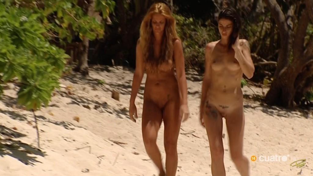 Serpiente desnuda y eva