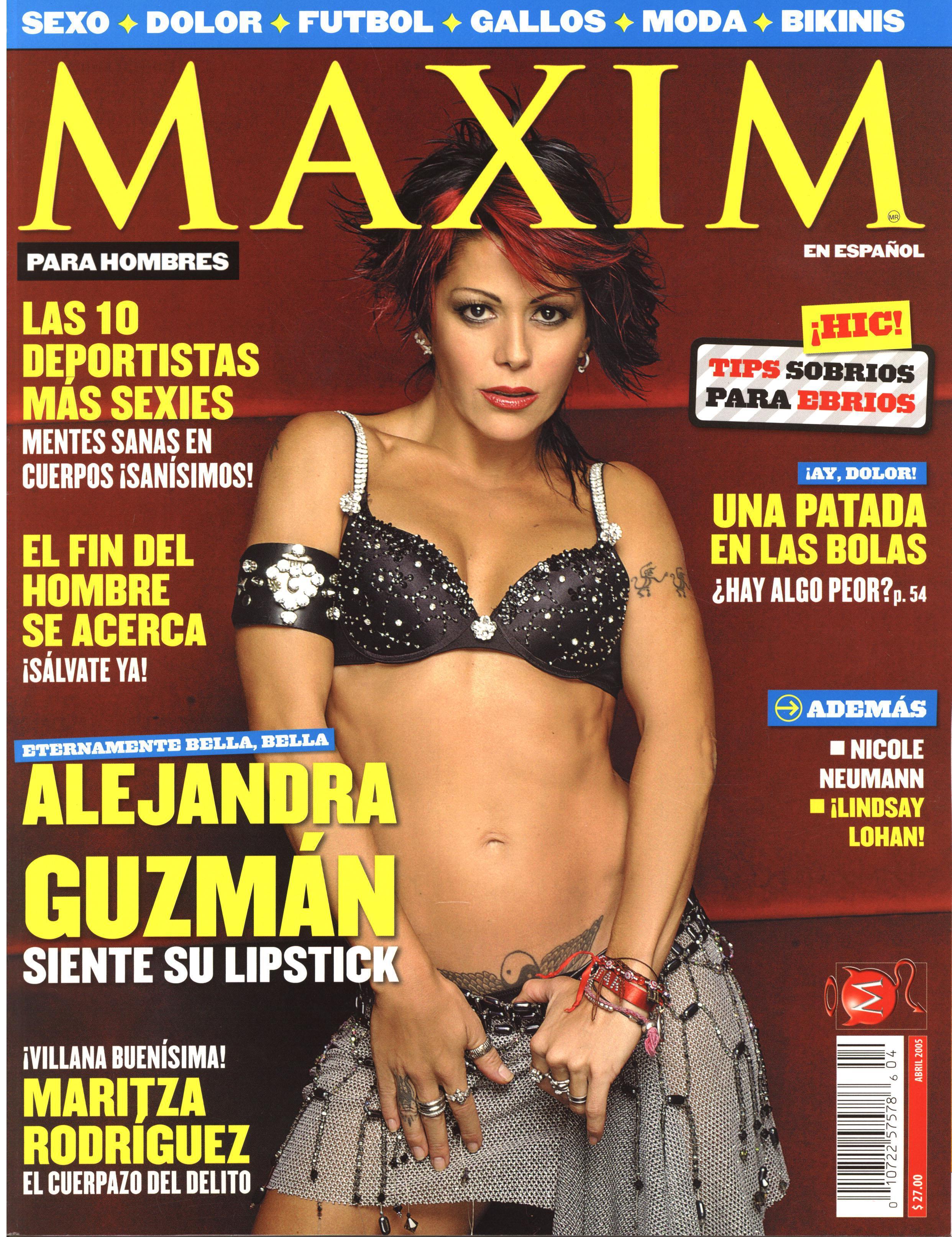 Alejandra Guzman  nackt