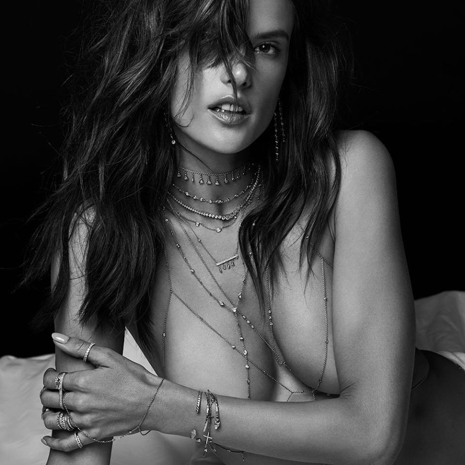 Interesting moment Alessandra ambrosio nude nipple