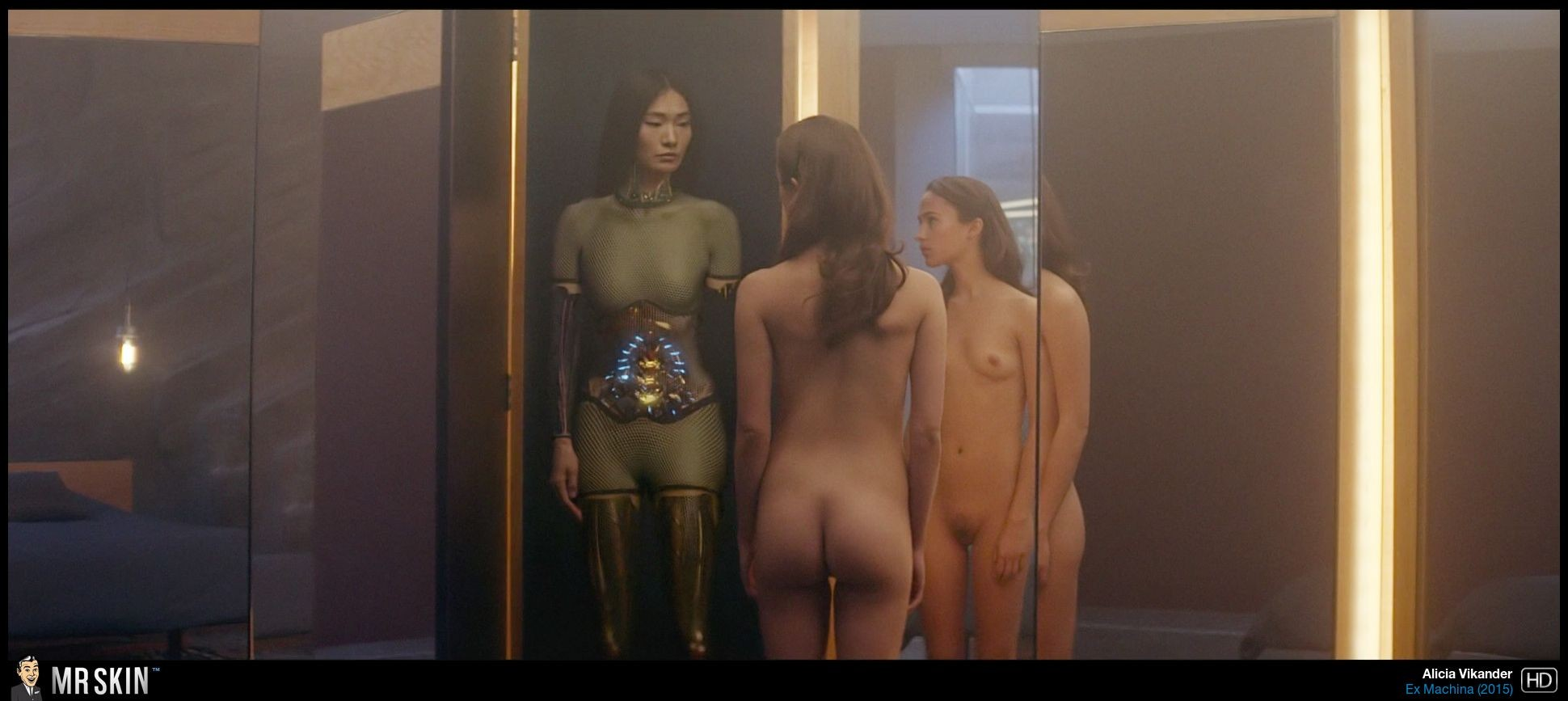 Ex machina naked