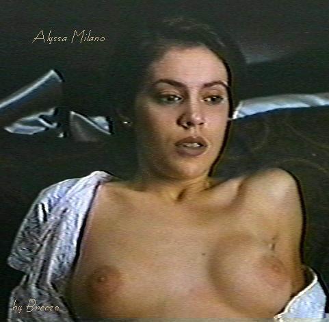 Alyssa Milano Desnuda - Famosas Desnudas