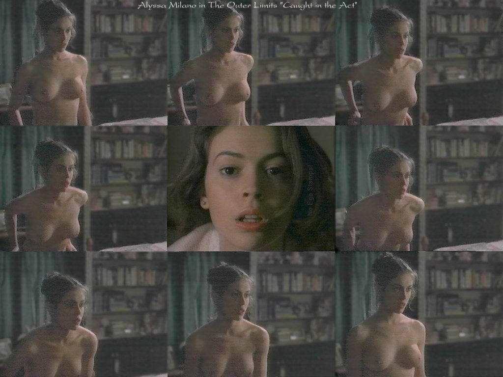 Alyssa Milano - Fotos Desnuda - SexyFamosacom