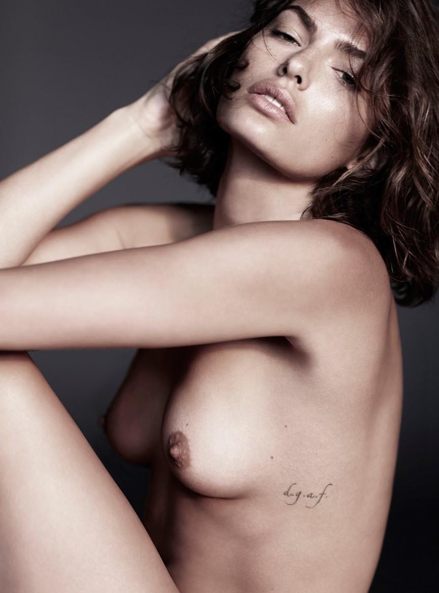 Sexy nude oily babes