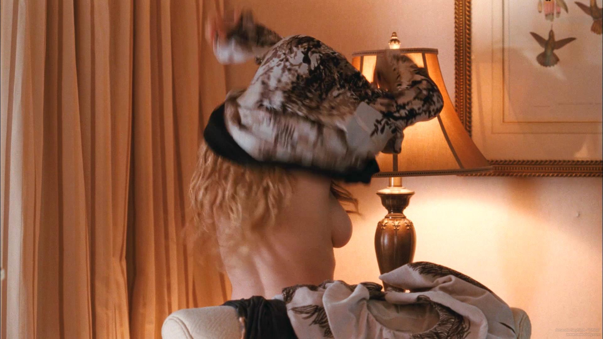 Amanda seyfried showing big boobs riding