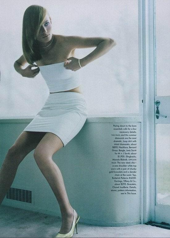 Amber valletta topless