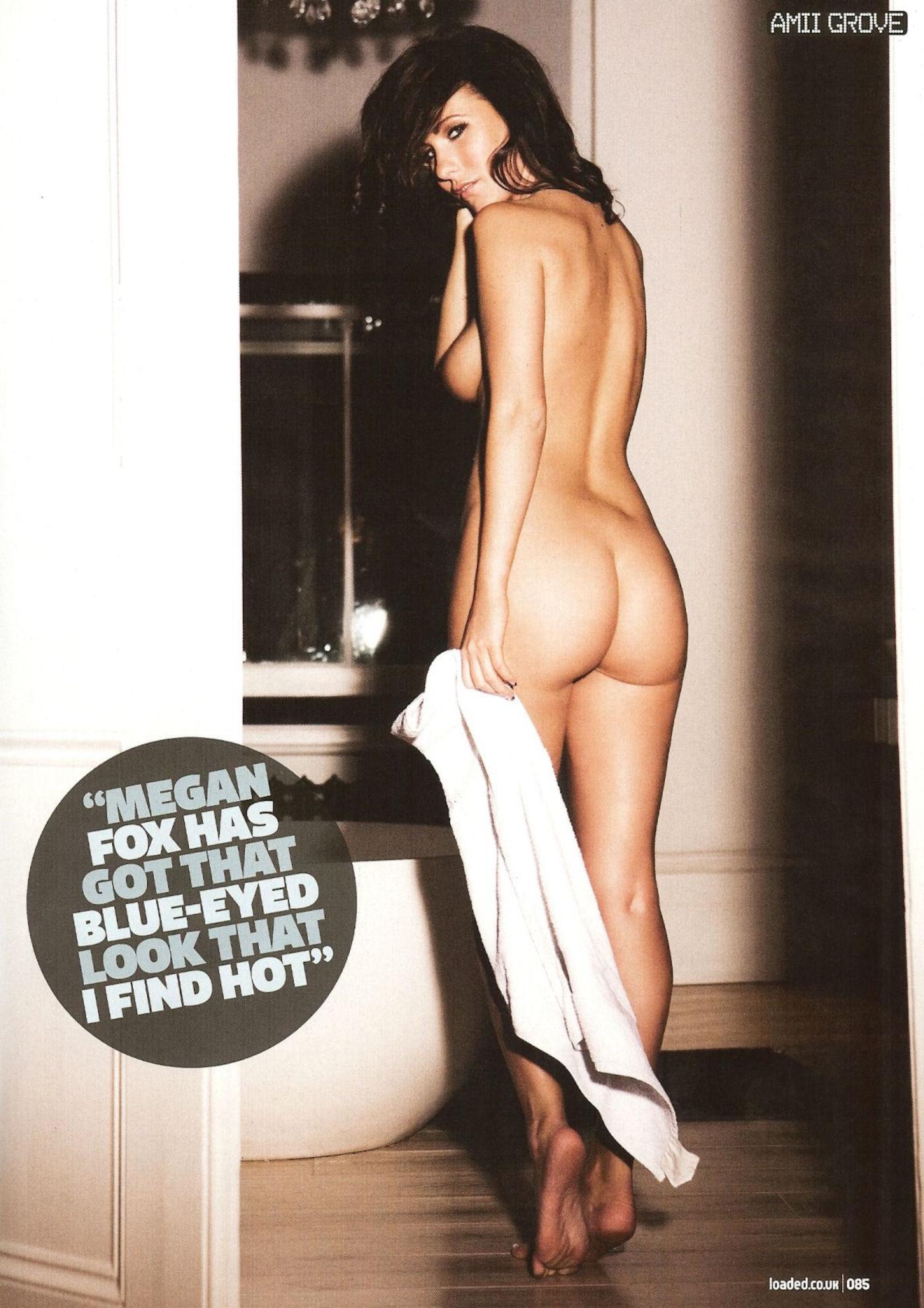 Amii grove topless