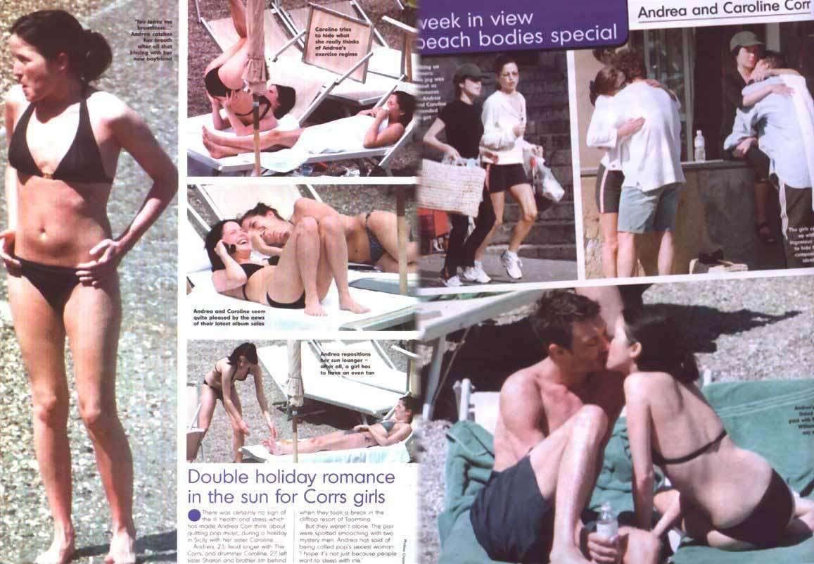 Andrea Corr desnuda - Fotos y Vídeos -