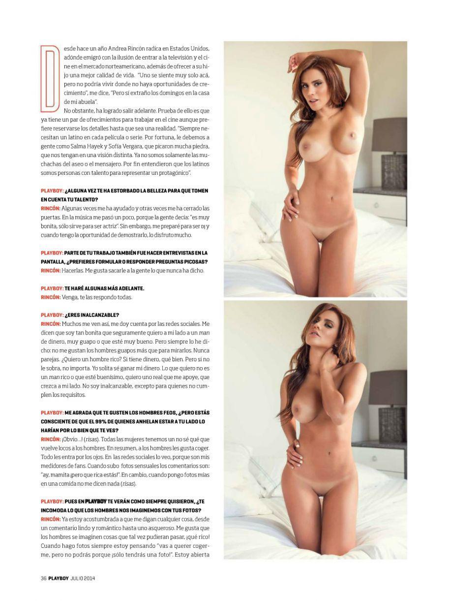 Andrea rincon nude HOT :-)