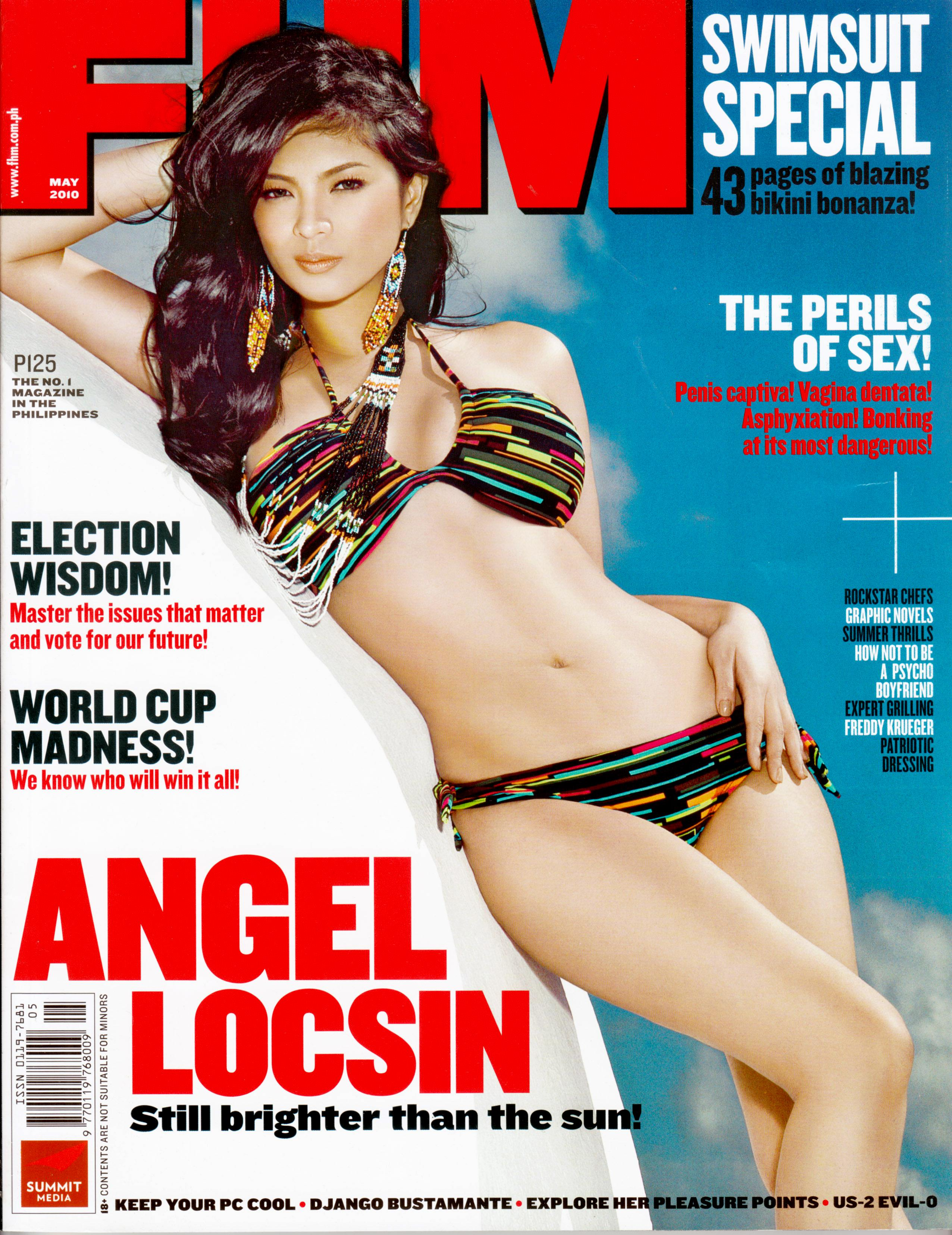 Angel Locsin FHM Philipppines May 2010 Cover Girl.