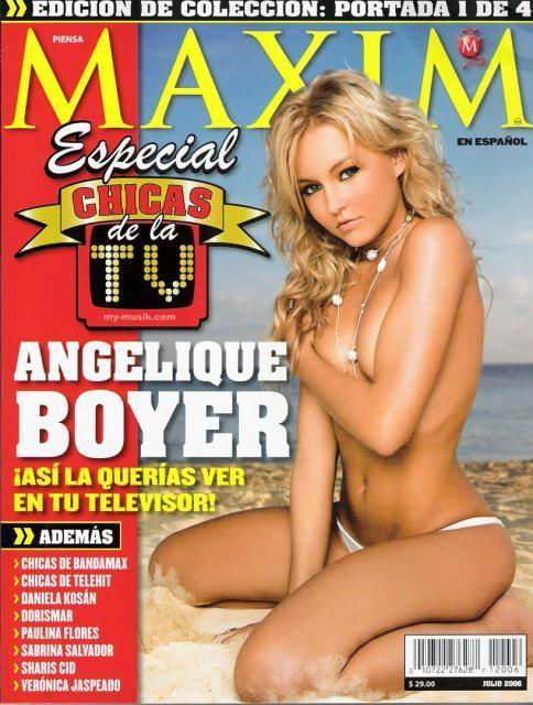 Angelique boyer naked topless #13