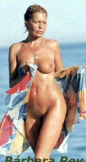 Rey nackt Bárbara  Barbara Rey