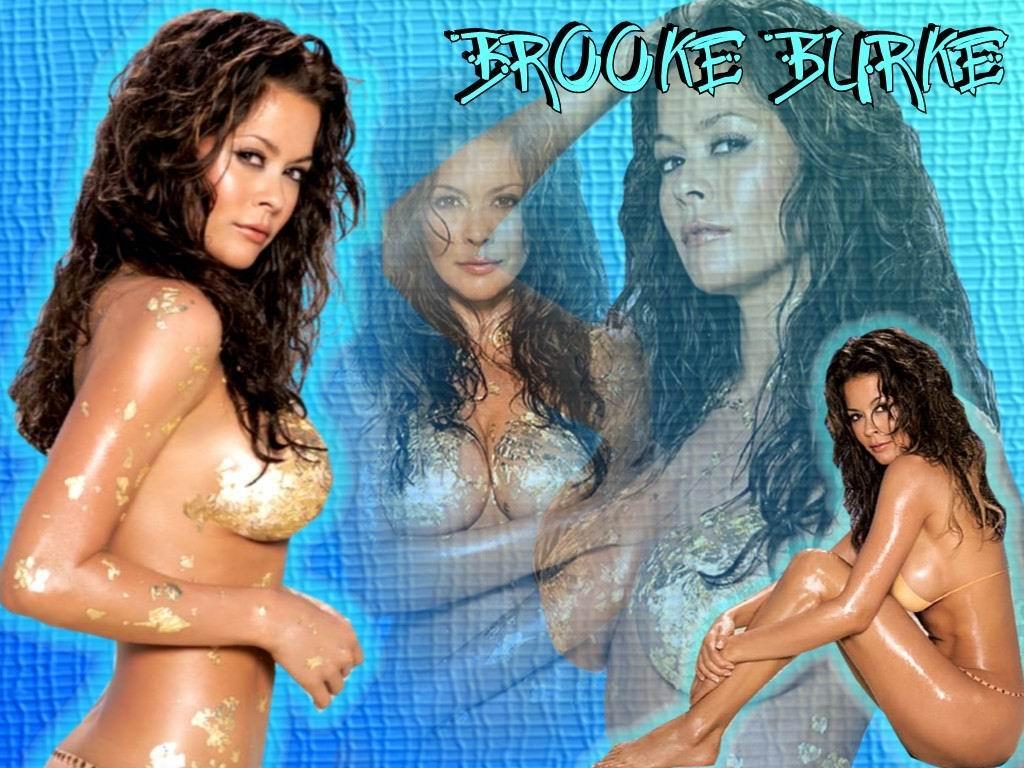 Brooke burke azul desnuda