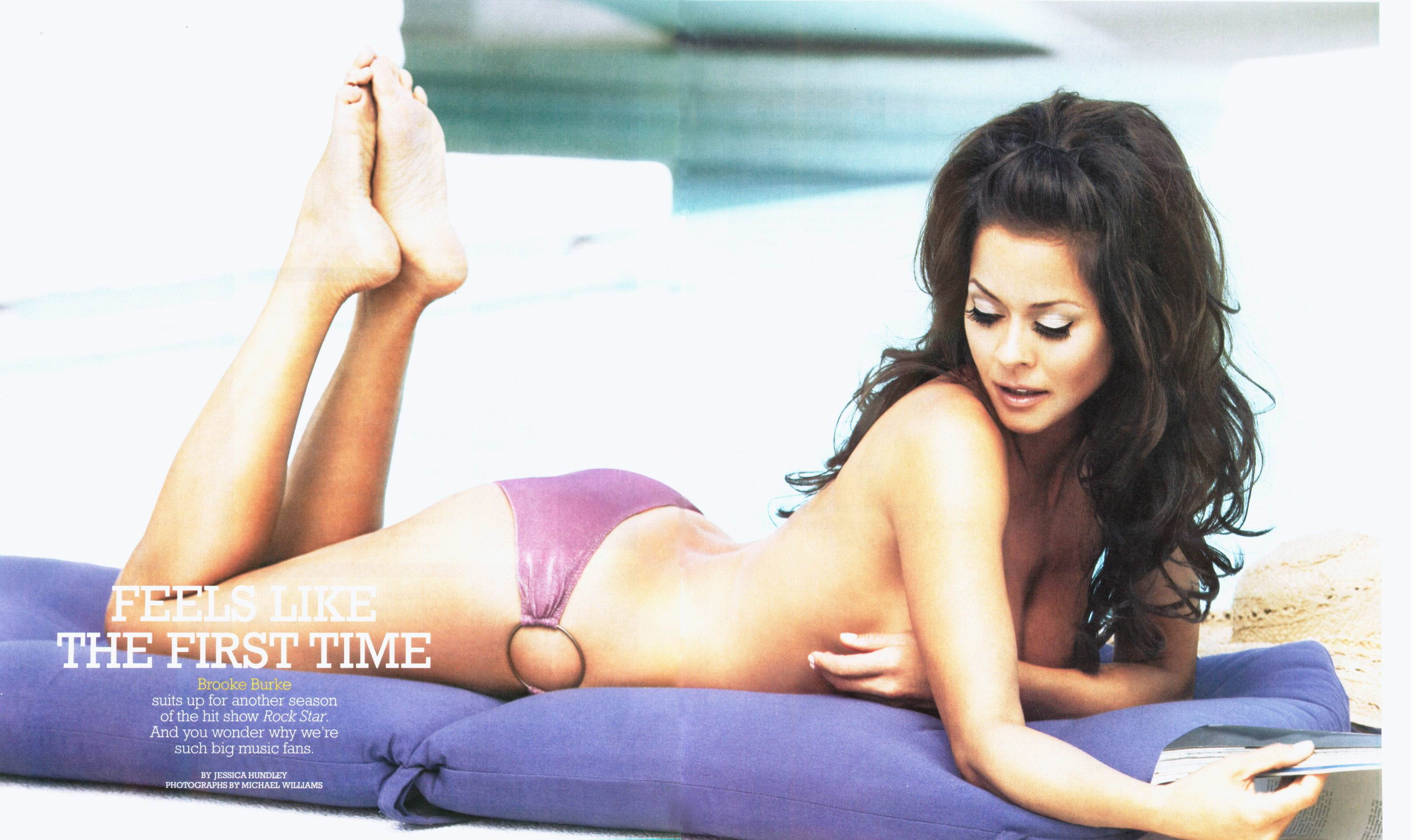Products Tagged Brooke Burke Topless Poster Posteramerica