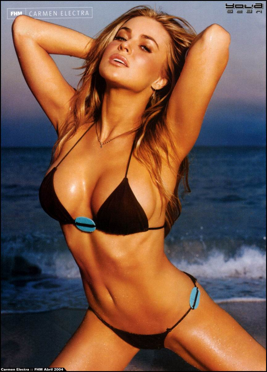 Carmen Electra FHM Magazine Pictures - Hollywoodtuna