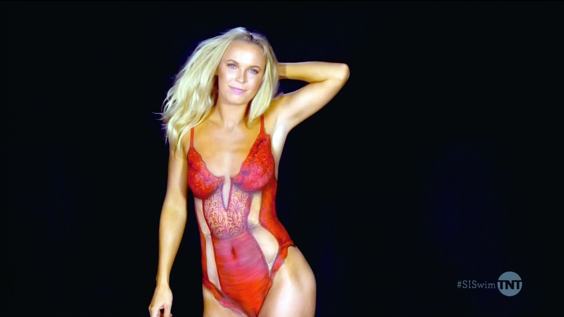 Caroline wozniacki naked bodypaint 6