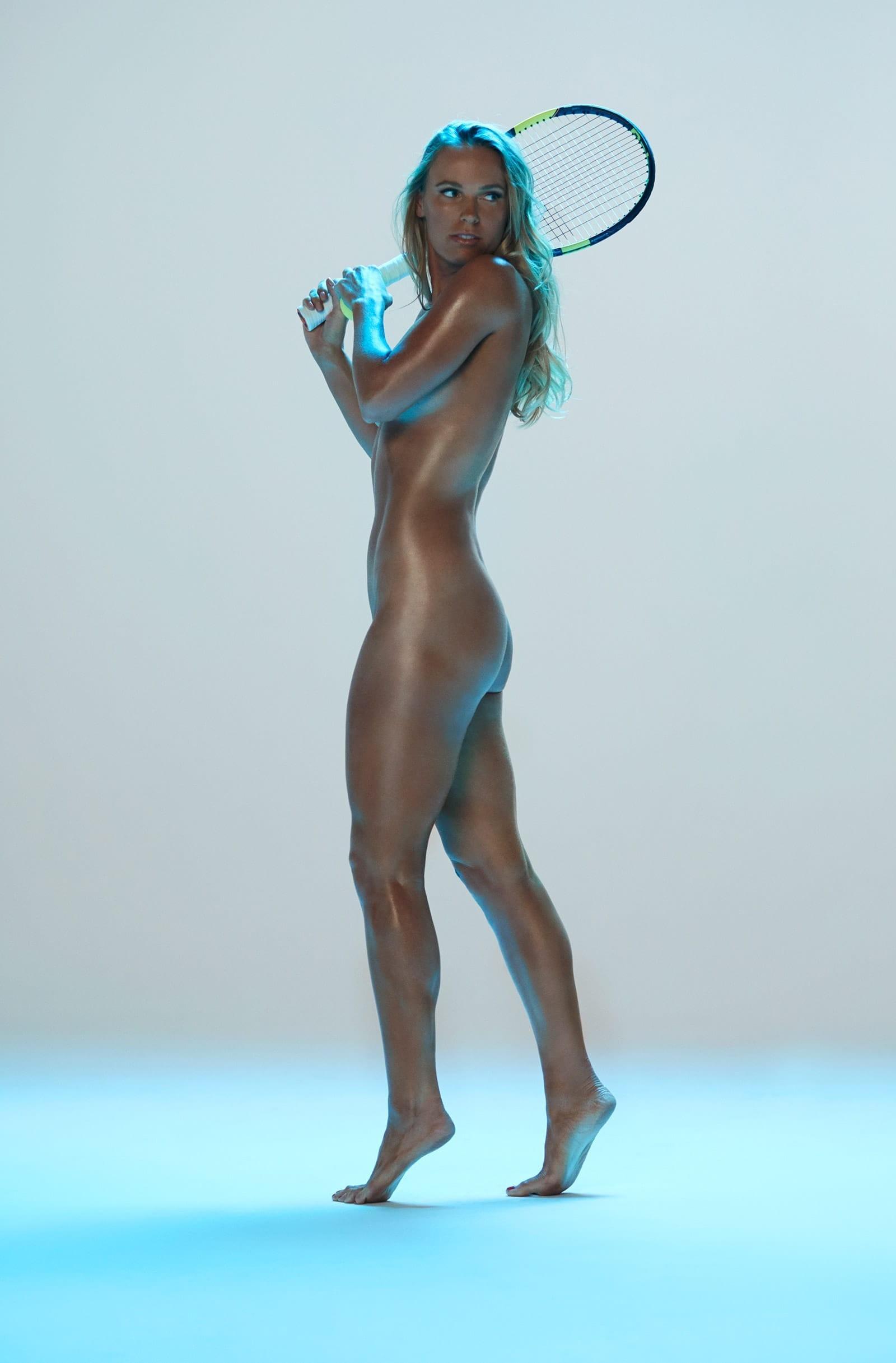 Caroline Wozniacki se desnuda para recibir Wimbledon