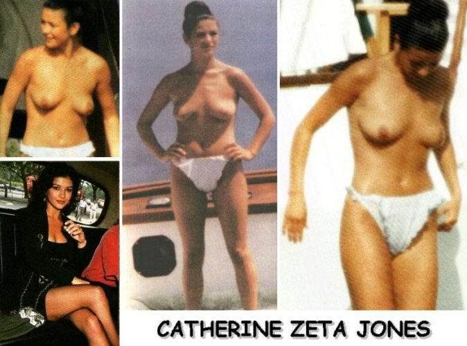 Catherine zeta johns desnuda
