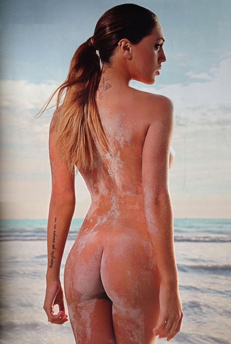 naked greasy butt sex
