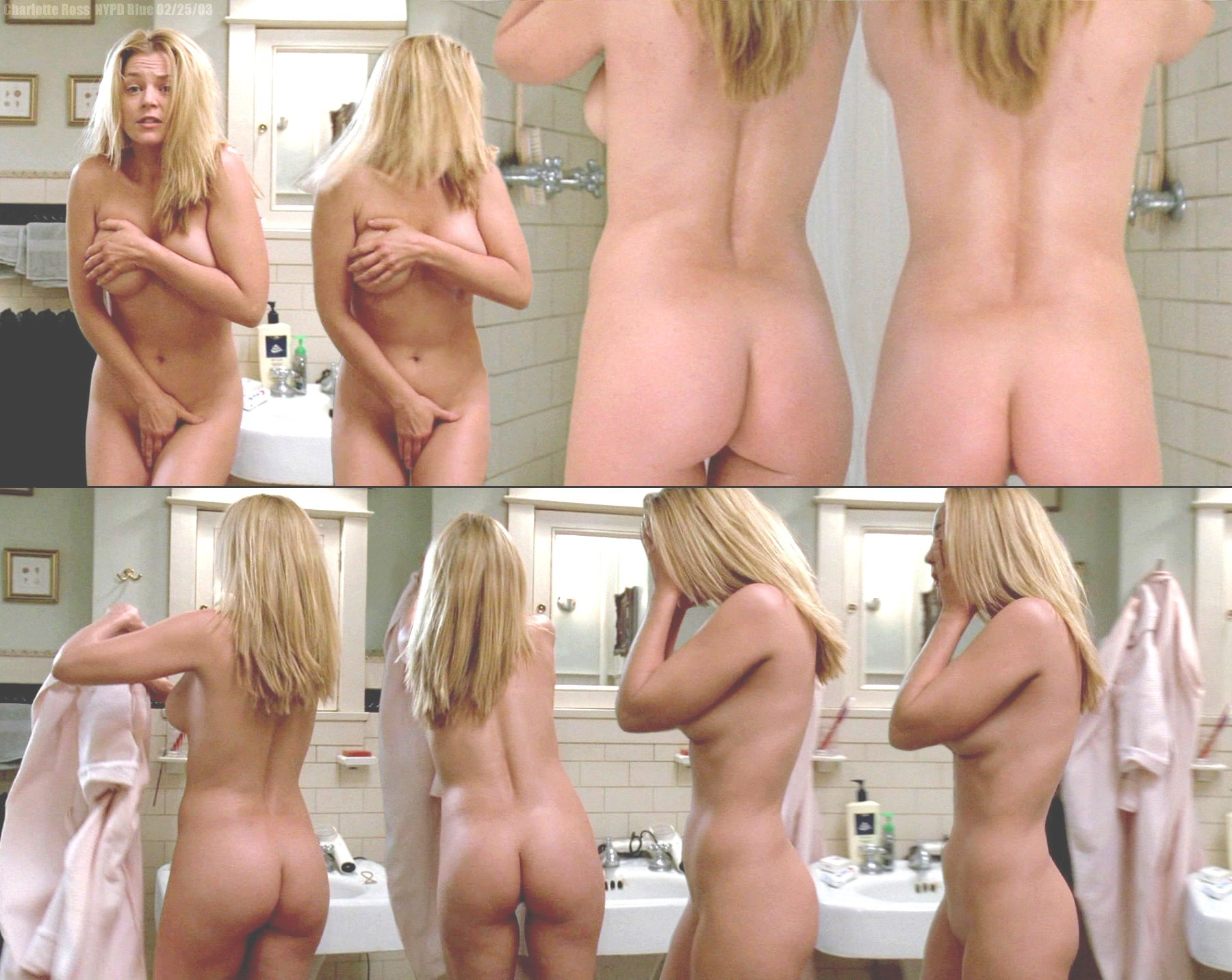 nude topless Charlotte ross