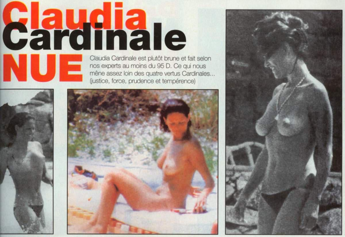 Claudia Cardinale nackt Nacktbilder & Videos, Sextape