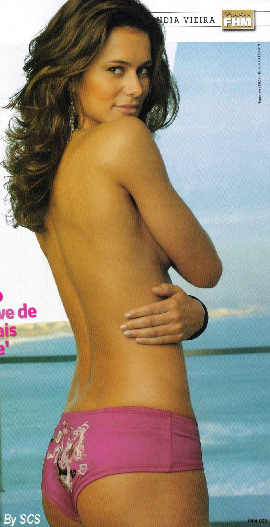 Claudia Vieira  nackt