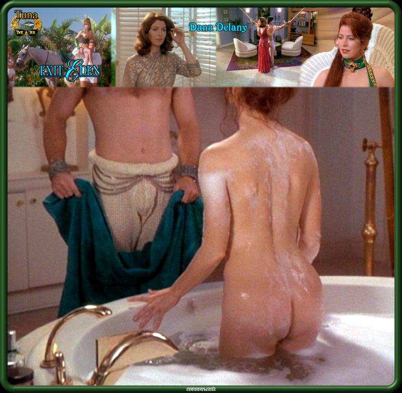 Dana delany breasts, bush scene in exit to eden