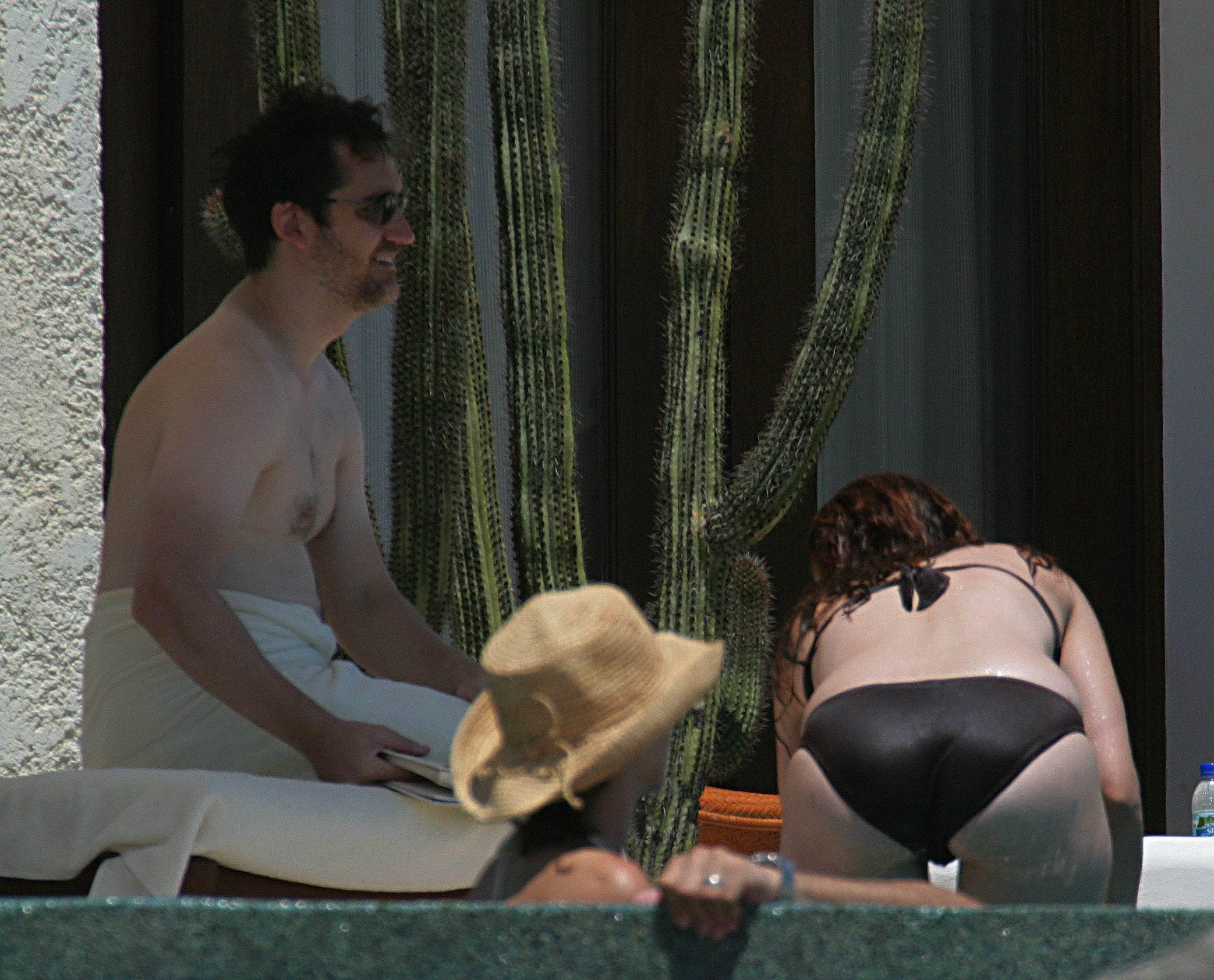 Debra messing bikini pics, junior naturist girls touching