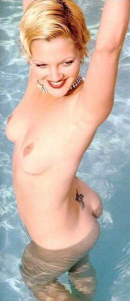 Have faced drew barrymore bikini can