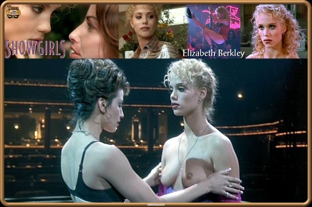 Elizabeth Berkley desnuda en Showgirls, donde