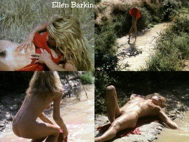 Юбкой эллен баркин секс фото блондинка