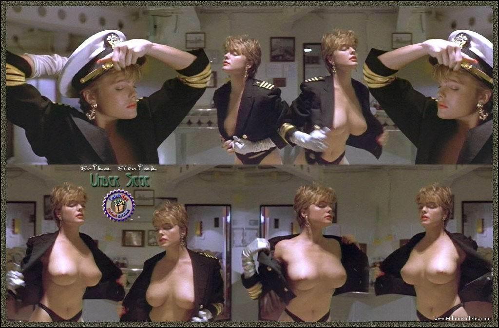 Erika eleniak nude scene in under siege picture scandalplanetcom