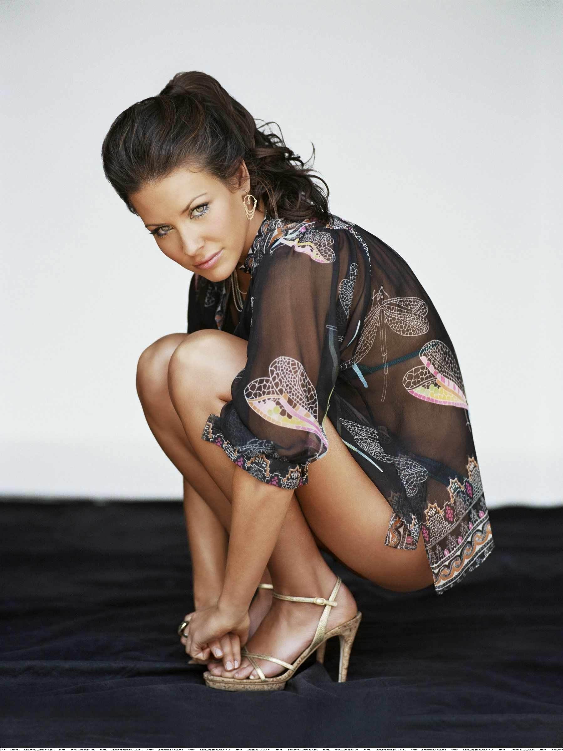 Evangeline Lilly nackt Nacktbilder & Videos, Sextape
