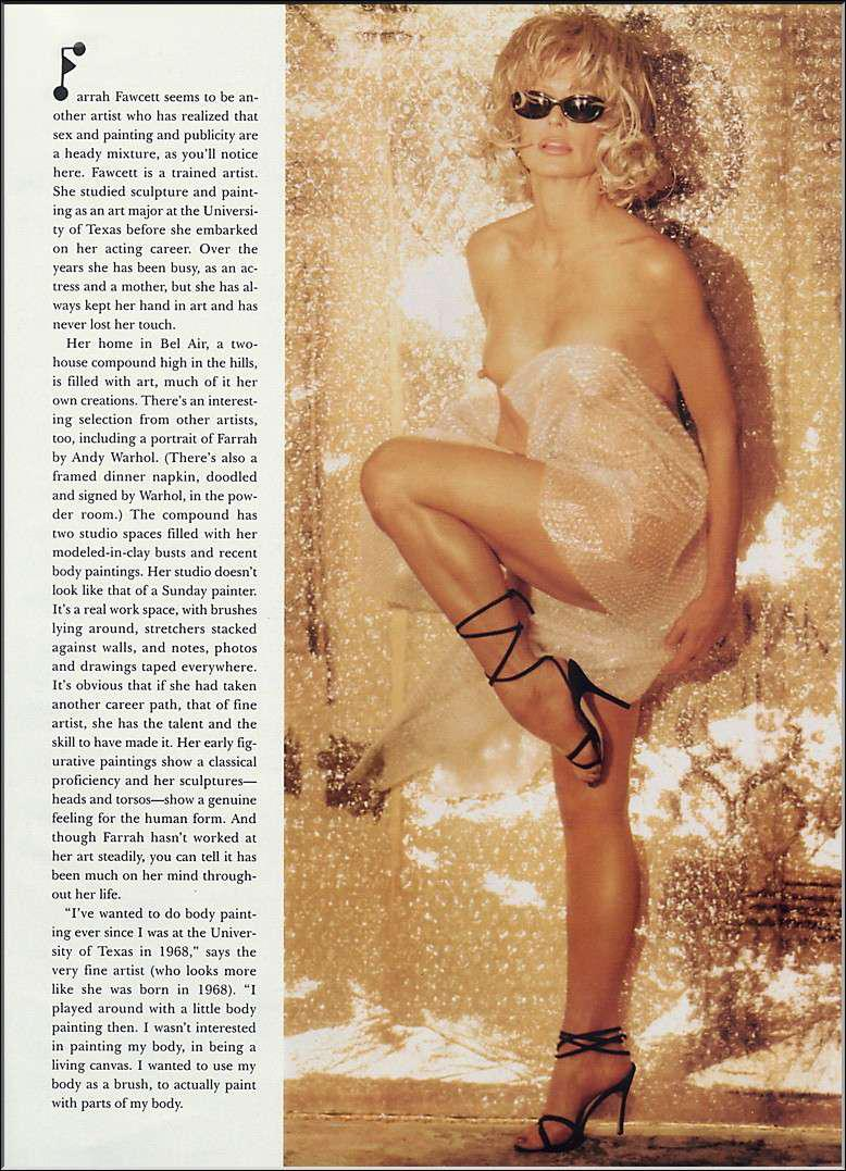 Farrah Fawcett nude - Page 3 pictures, naked, oops, topless ...