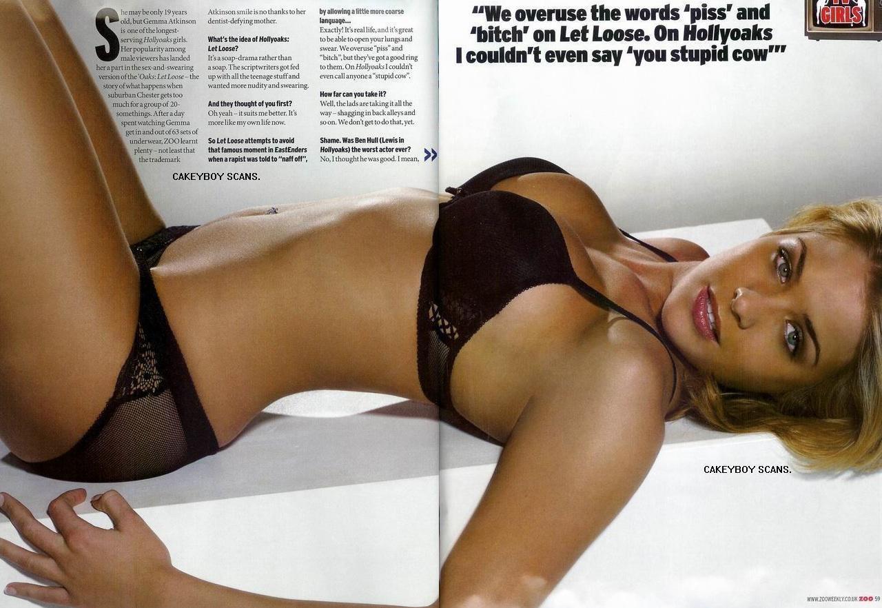 Gemma Atkinson desnuda - Fotos y Vídeos -