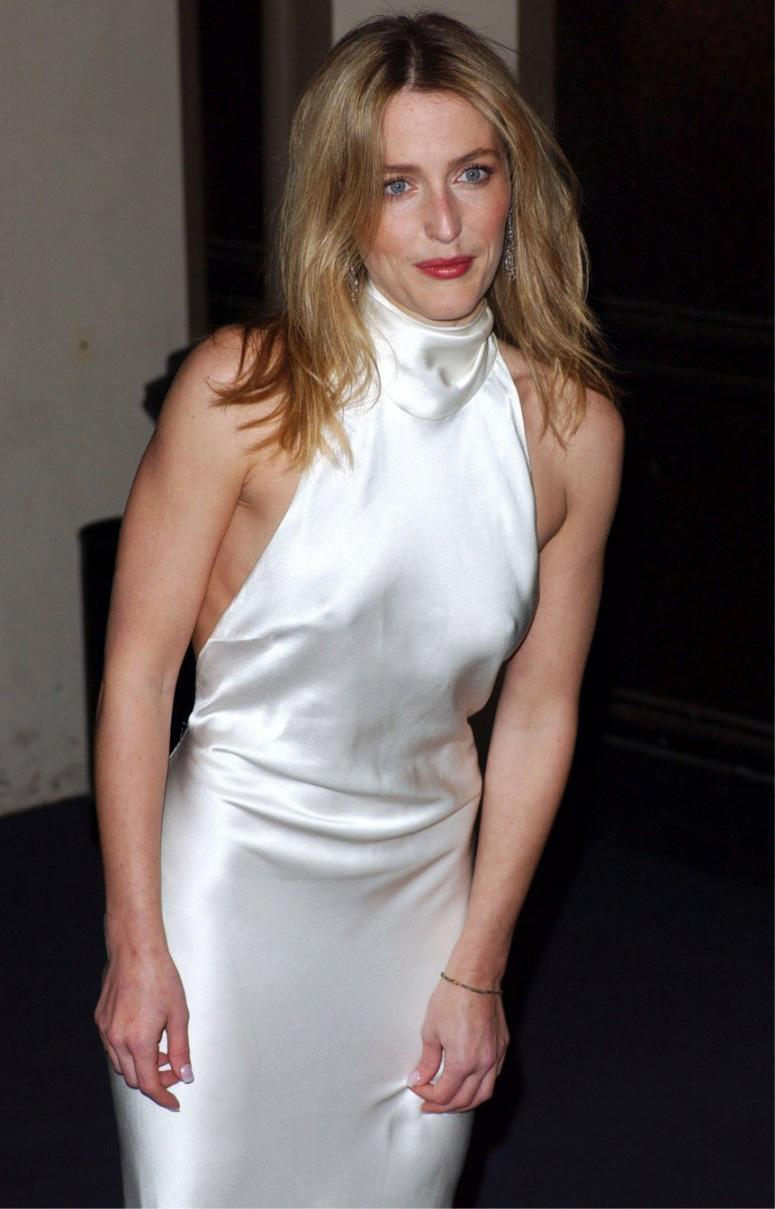 Gillian Anderson Nude, Naked - Pics And Videos -7524