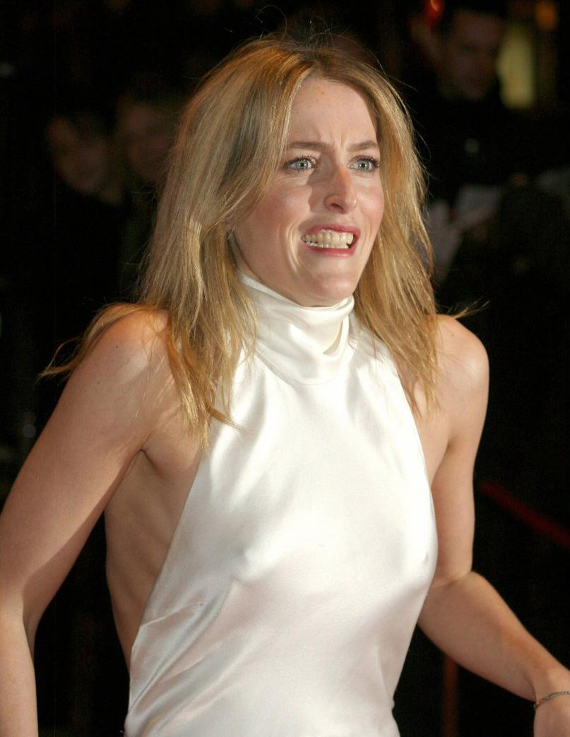 Gillian Anderson Nude, Naked - Pics And Videos -2997