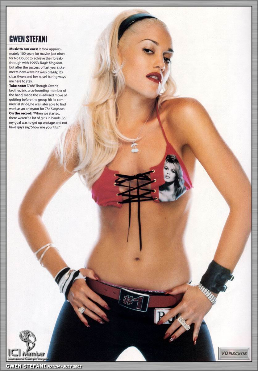 Gwen Stefani Nude - Page 15 Pictures, Naked, Oops, Topless -4293