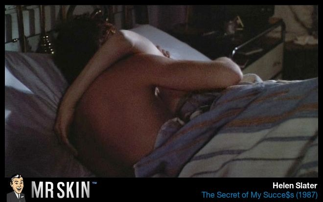 Helen slater breasts scene in a house in the hills