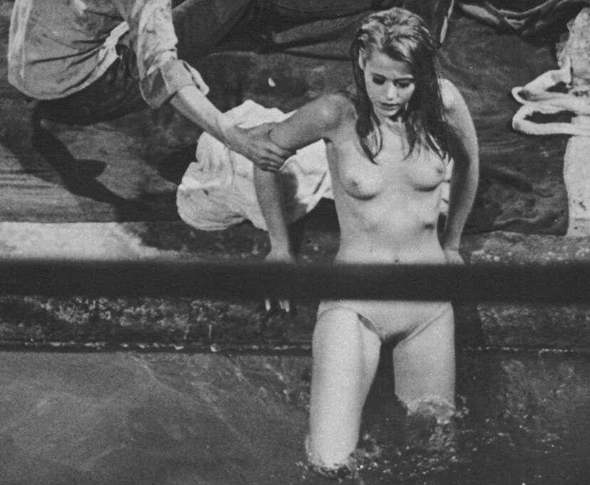 Women flashing at walmart