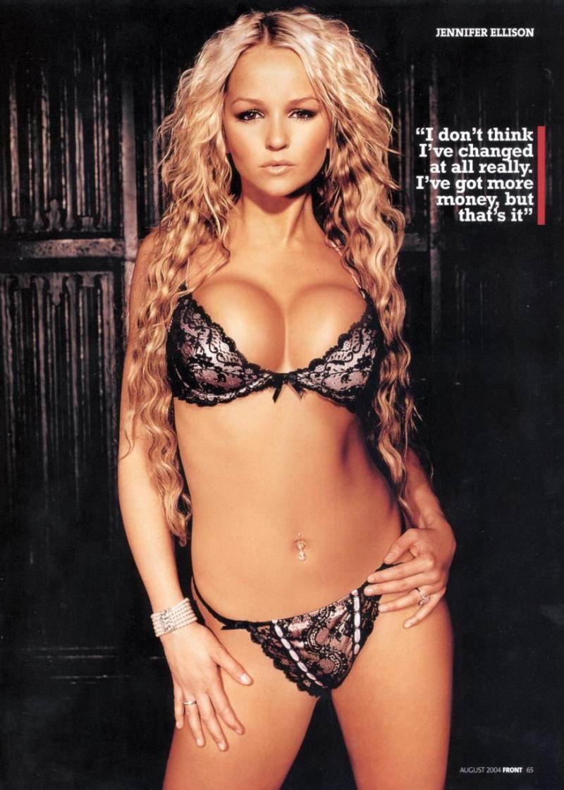 Jennifer ellison upskirt panties and hot big tits