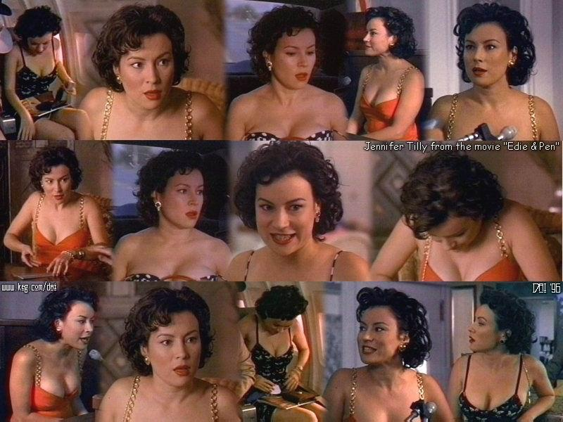 Jennifer Tilly Sexy Scene In Hollywood North