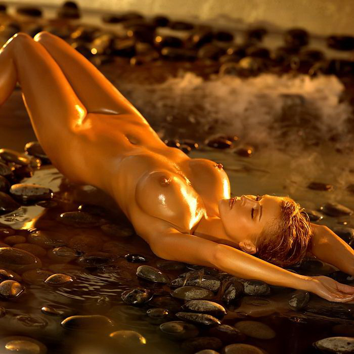 Oily nude playboy pornography — photo 5