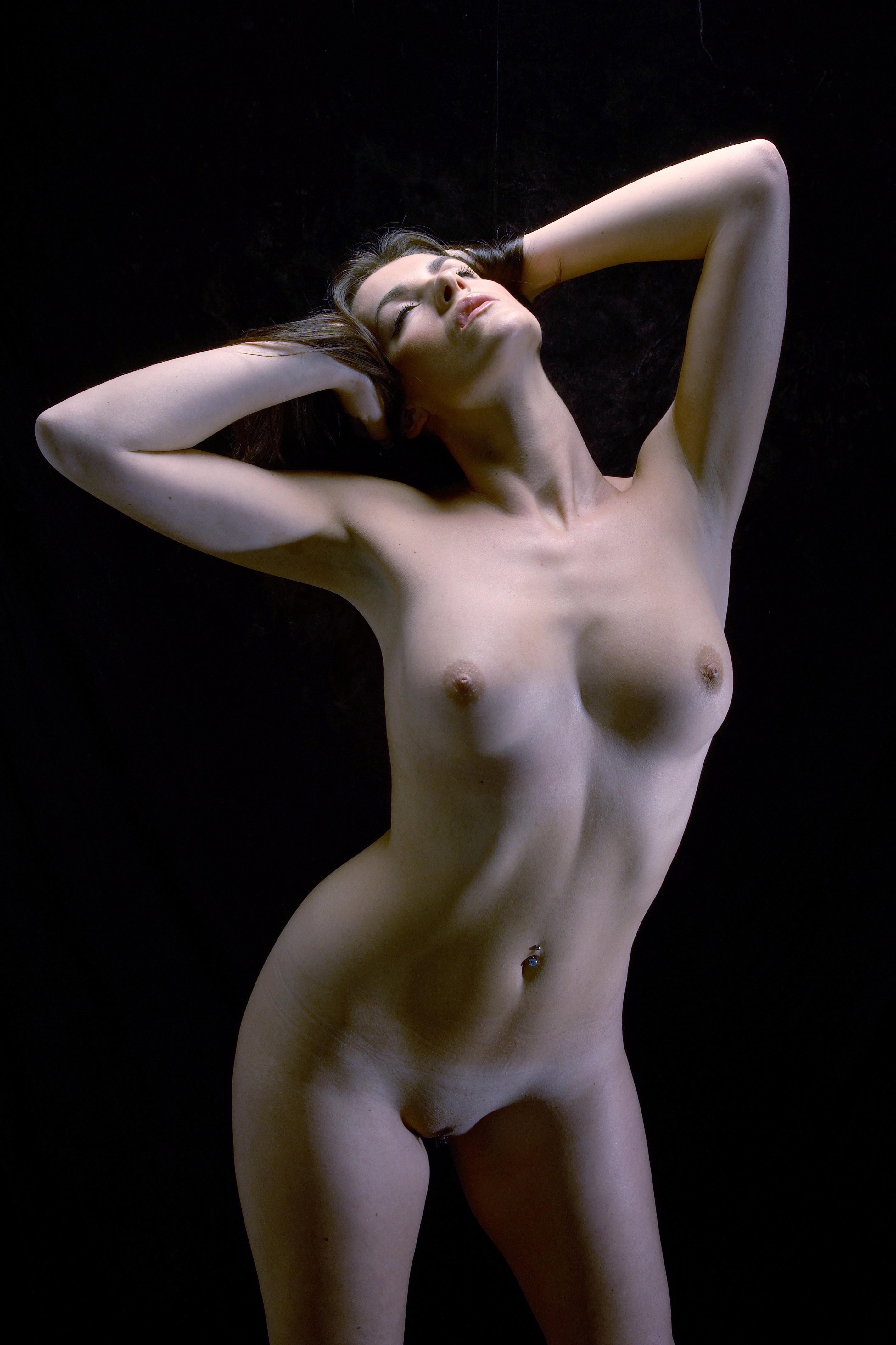 Katies green naked