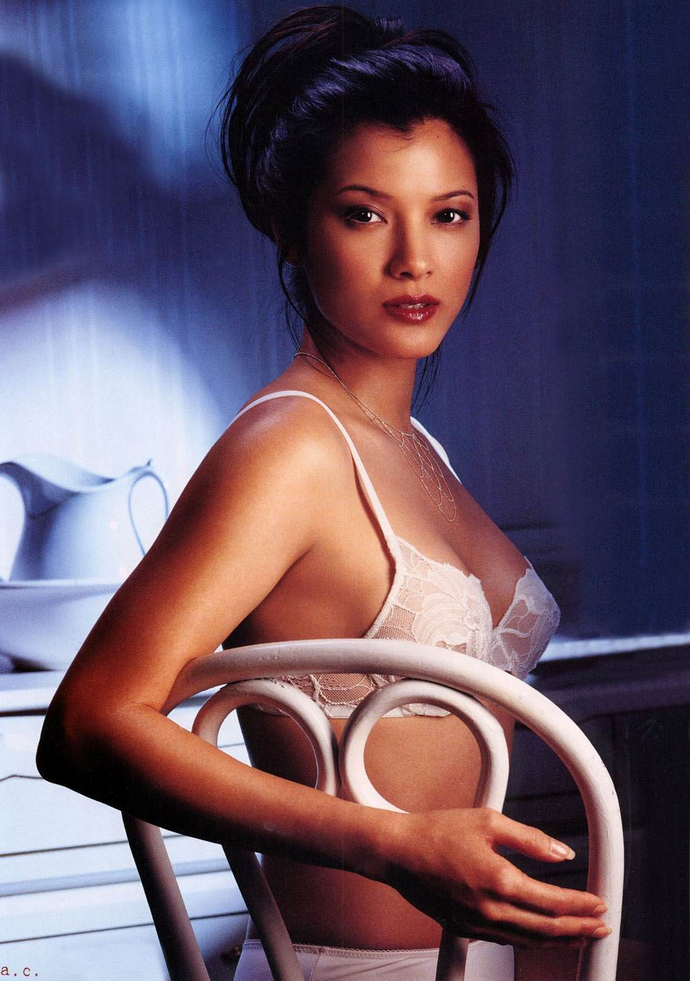 Kelly Hu Nude Pics & Videos, Sex Tape