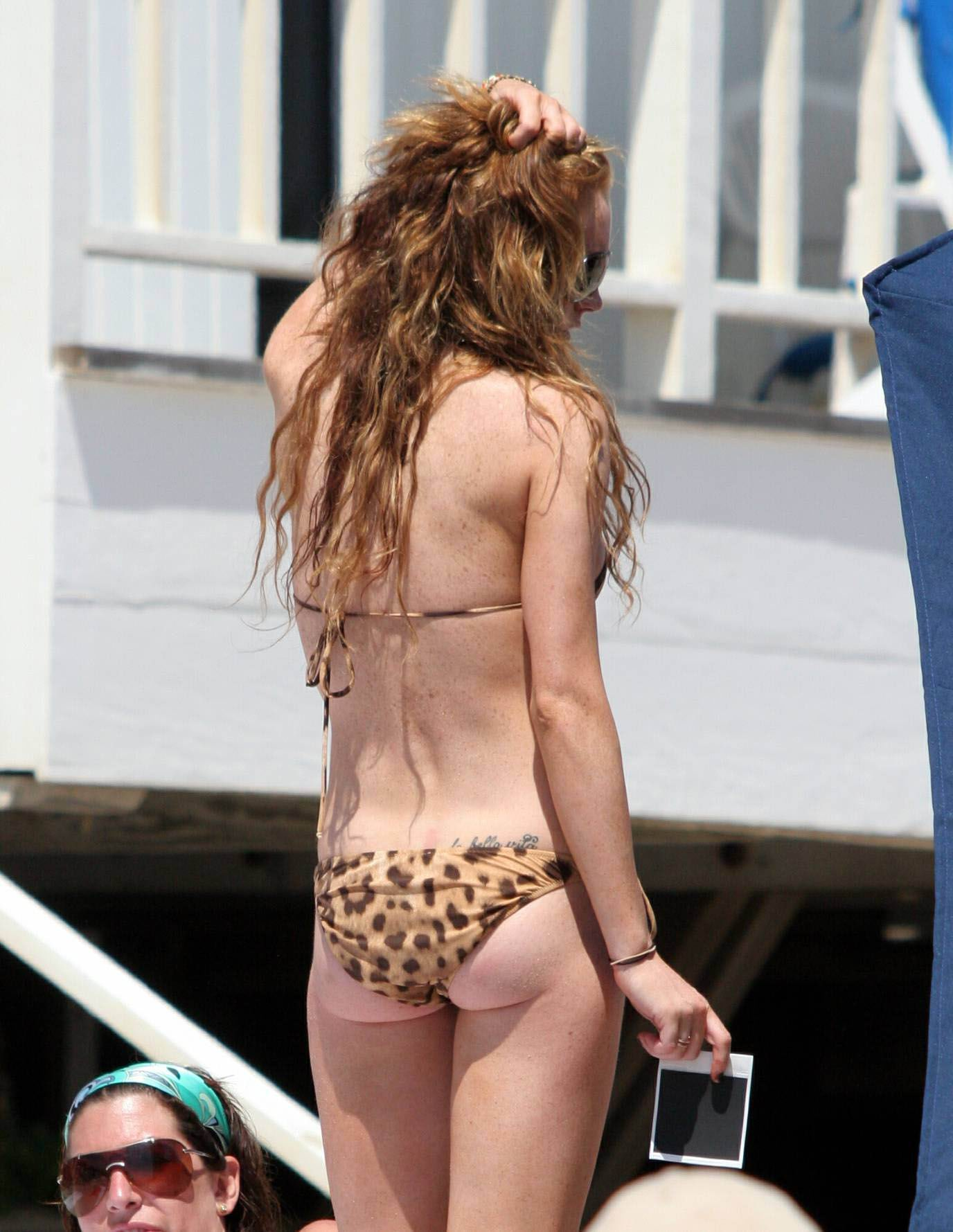 Lindsay lohan's ass