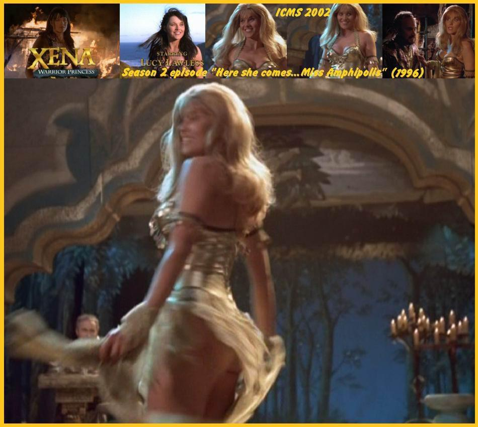 Jaime murray and lucy lawless threesome - 1 part 10