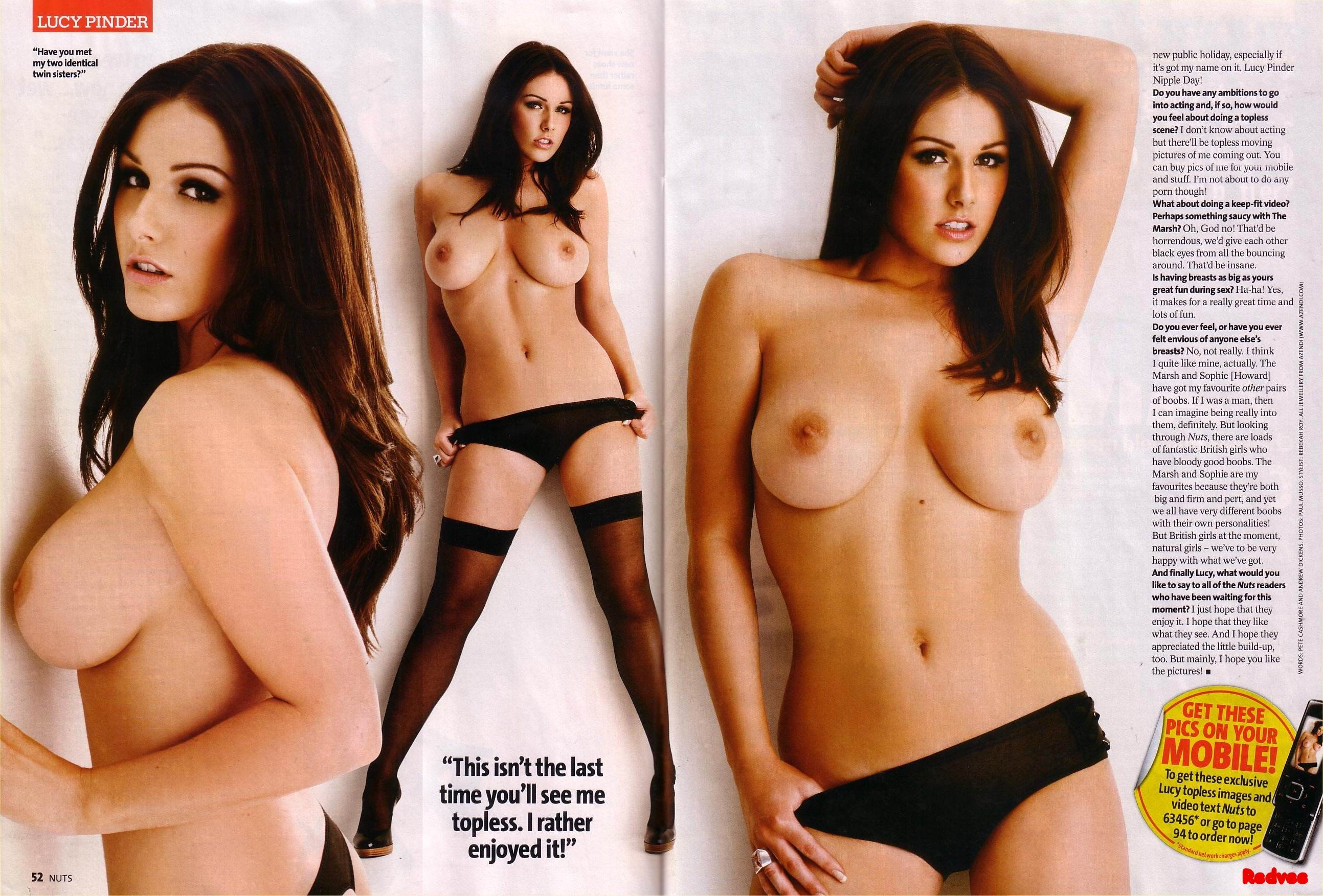 Lucy pinder tits