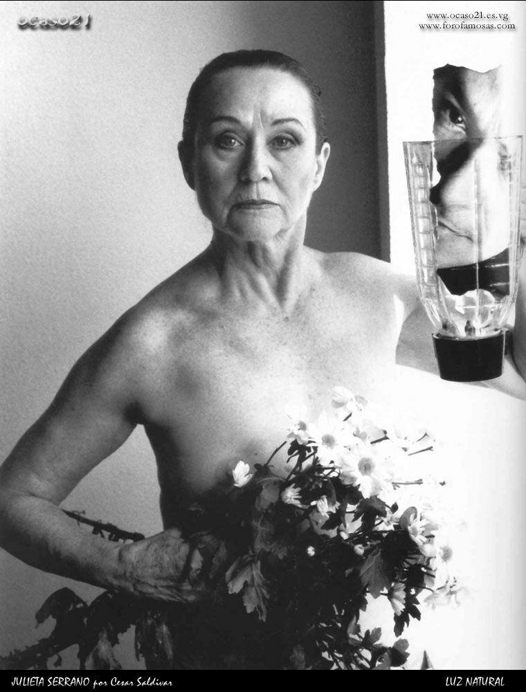 Nackt  Julieta Serrano Julieta Serrano