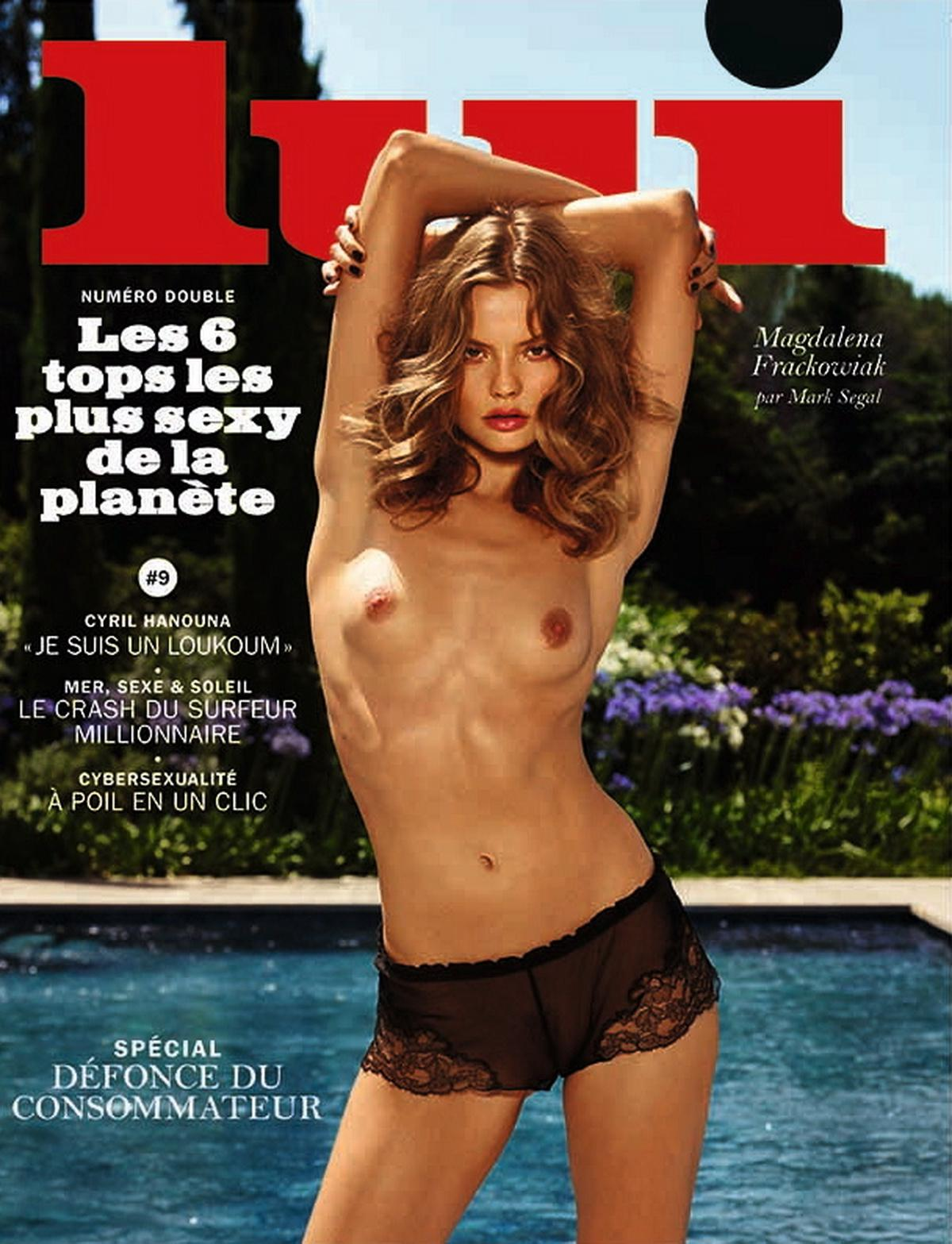 Magdalena Frackowiak Nude, Topless And Sexy