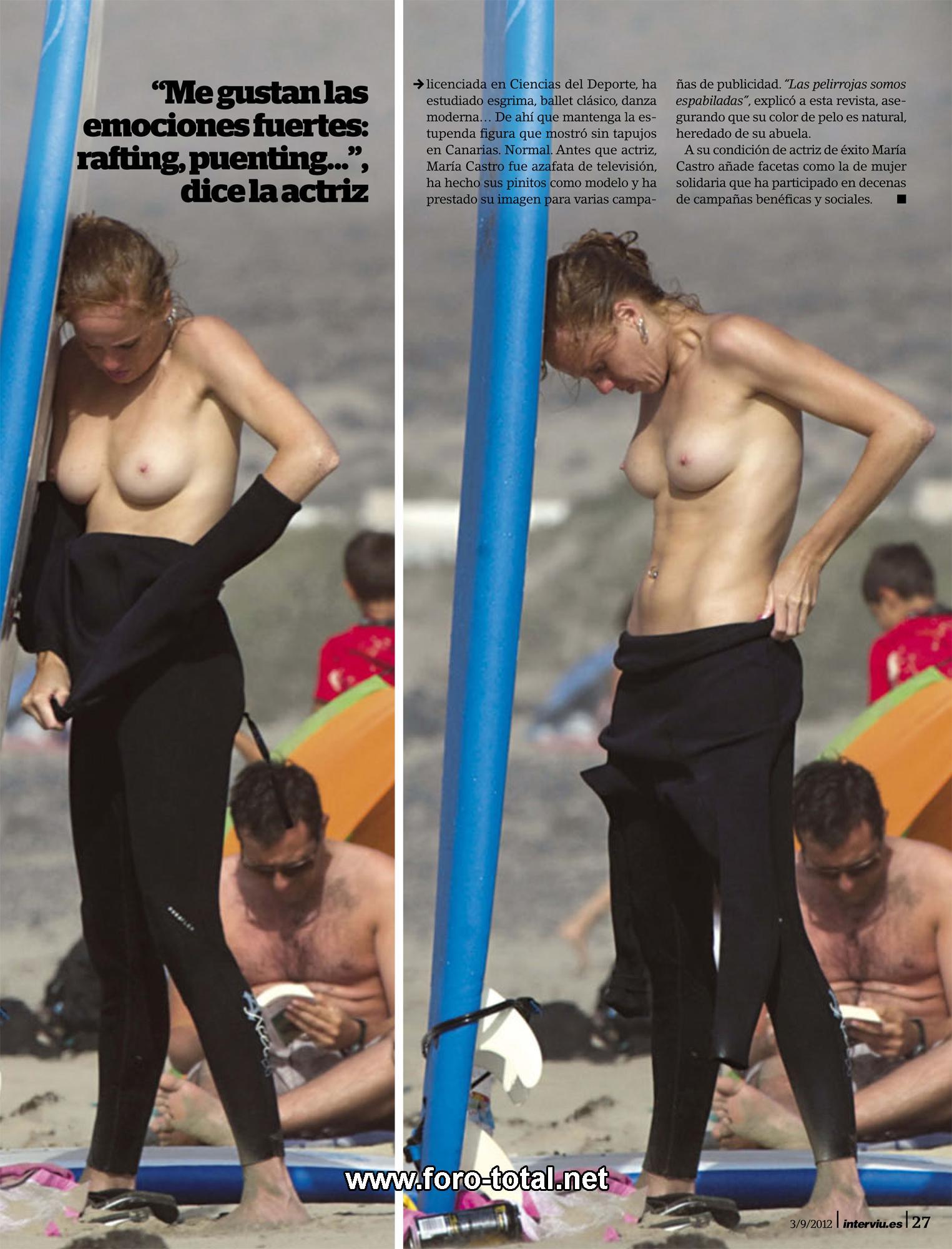 Desnuda Fotos De María Castro Desnuda Tetas Pezon Culo Coño